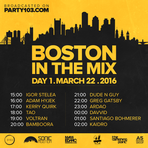 DJ Tao - Boston In The Mix