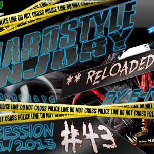 E Razer – Hardstyle Injury * Reloaded * Live #43   31/01/13