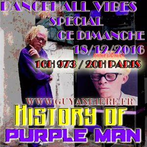 DANCEHALL VIBES PREMIERE HEURE DU 18 DECEMBRE 2016