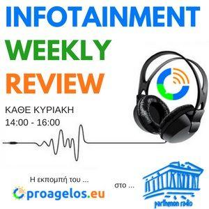 29 - 10- 2017 INFOTAINMENT WEEKLY REVIEW από το PROAGELOS.EU - #2 Γιώργος Τσιματσίδης