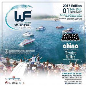 Carlos Manaca LIVE @ Albufeira Water Fest 2017 | Algarve, Portugal