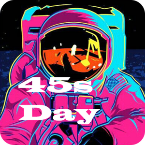 STRICTLY 45s #45  >SPACE PSYCHE FUNK< 45 DAY MIXTAPE