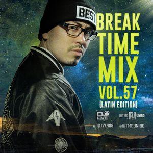 Break Time Mix Vol. 57 (Latin Edition)