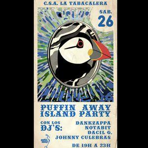 DankZappa Set, Scandinavian party PuffinAway at Tabacalera, Madrid 26-11-11