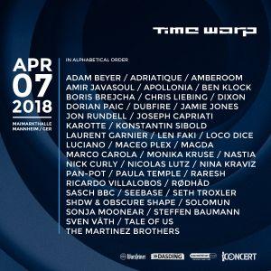 Ben Klock @ Time Warp 2018, Maimarkthalle, Mannheim - 07 April 2018