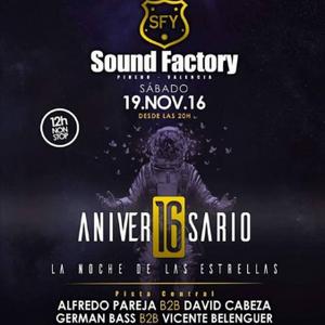 German Bass @ 16 Aniversario Sound Factory (Matinal)
