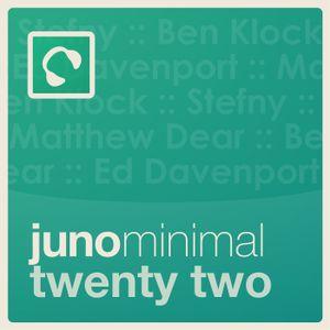 Juno Minimal Podcast 22