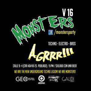 Monsters V 16 19.09.2015 (live set)