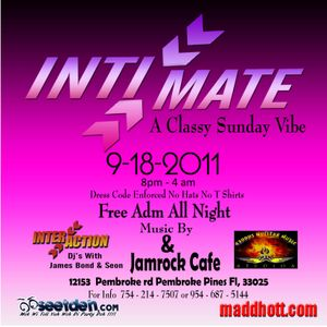 Promo mix for INTIMATE (Virgo Edition) 9-18-2011 @ Jamrock Cafe