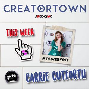 T.O. WebFest Co-Founder Carrie Cutforth