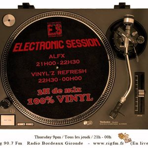 Electronic Session [16.04.2015]VinylZ Refresh//Alfx