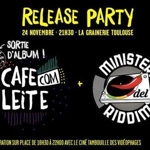 Cafe Com Leite Com Ministeri Riddim - ITW + Live RADIO FMR