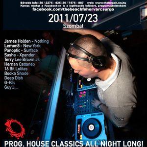 Progressive Classics All Night Long Live @ The Beach by Tamas Jambor 20110723