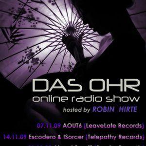 Escodero & ISorcer - DAS OHR [Nov.09 Guestmix]