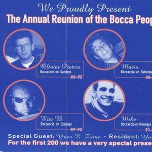 "Resident DJ Team (part 2) at ""A Tribute to Boccaccio"" @ Cherry Moon (Lokeren-Belgium)- 30 April 1997"