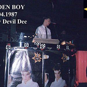 Discoteca GOLDEN BOY (Lunata LU 23.04.1987) Mix by DEVIL DEE