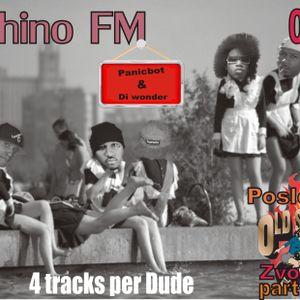 Vyhino FM podcast 0012 posledniy oldshcool zvonok part 1 Panicbot i Di wonder (4 track per dude)