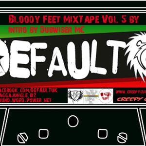 Bloody Feet MixTape Vol 5 Default (Creepy Cuts)