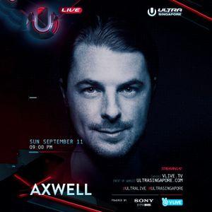 Axwell LIVE @ UMF Singapore 2016