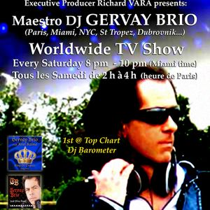 GERVAY BRIO Electro Show on TSNMiami TV 2011.11.06