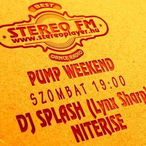 Dj Splash (Lynx Sharp) - Pump WEEKEND 2014.08.09 - Nu Disco edition