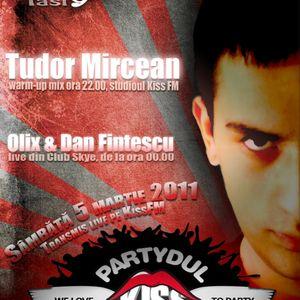 Tudor Mircean @ Partydul Kiss FM (ed.170) - part1