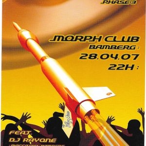 BASSROCKET Phase 3 recorded live in Morph Club Bamberg 28-04-07 ft. DJ RayOne ls MC Sparky D Pt. 1