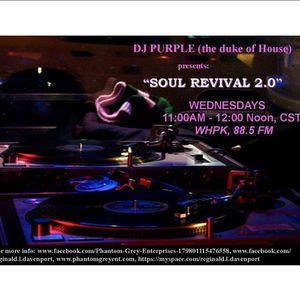 Soul Revival 2.0, WHPK, 88.5 FM (Chicago), 12/7/2016