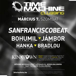 Hanka & Bradlou live @ Time Machine Clubbing   20150307
