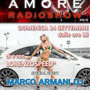 LORENZOSPEED present AMORE Radio Show # 619 Domenica 14 Settembre 2014 part 1