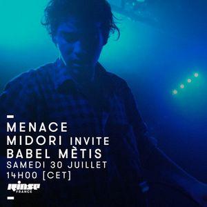 Menace Records : Midori Invite Babel Mètis - 30 Juillet 2016
