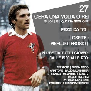 """Stagione 4. Puntata 27. """"PEZZI DA '70: PIERLUIGI FROSIO"""" con PIERLUIGI FROSIO."""