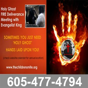 Healing and Deliverance Service 04-06-13