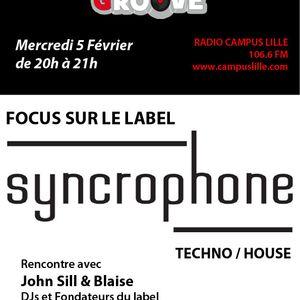 Spéciale SYNCROPHONE ! 05/02/2014