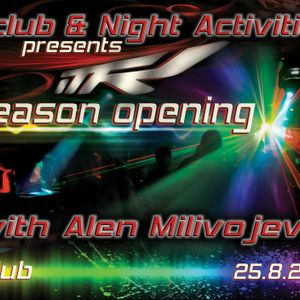 Daniel Greenx live at F CLUB SEASON OPENING with ALEN MILIVOJEVIĆ & NIGHT ACTIVITIES