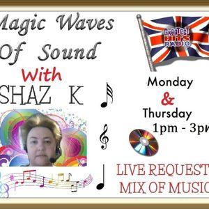 Shaz Kuiama - Magic Waves Of Sound - 26th June 2017