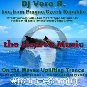 UPLIFTING TRANCE - On the Waves Uplifting Trance Dj Vero R - the Heart's Music