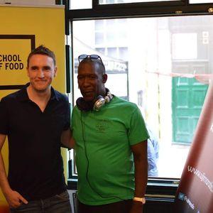 Weston College School of Food & Ujima Radio Live St Nicks Night Market w/ Bristol Food Connections