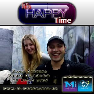 26.10.2015 It's Happy Time Πάνος & Λίνα κάθε Δευτέρα 8-10μμ @M-Word Web Radio