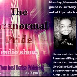 The Paranormal Pride-Brittany Fiero - 11-21-2016
