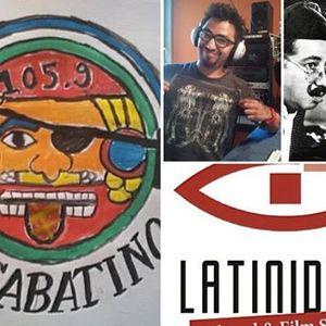 El Sabatino con Rafael Gutierrez Donadío de Latinidade Kulturforum y El Tortuga