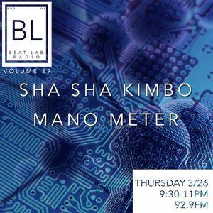 Mano Meter - Exclusive mix Part 1 - Beat Lab 39