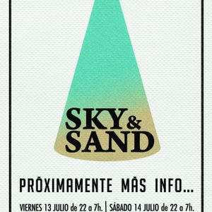 Above the sky, under the sand...