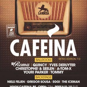 dj Youri Parker @ La Rocca - Cafeina retro 12-12-2015