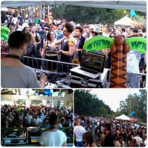SABLE SHEEP - LIVE FROM PARIS @ COCOBEACH.26TH JULY 2014