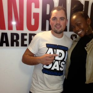 Booty Luv joins LP at Bang Radio #UKfocus