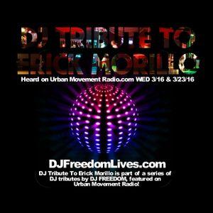 "DJ Freedom's ""Club Massive"" on Urban Movement Radio (Wed 3/2/16 + 3/9/16) 2 hours"
