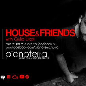 Pianoterra.music // House&Friends w. GIULIO LIROSI  (21.06.17)