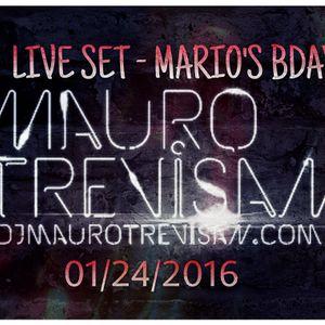 Live Set - Mario's BdayBash (Jan, 24th - 2016)