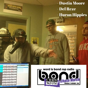 WIB Rap Radio - Dustin Moore, Huron Hippies, and Del Reze
